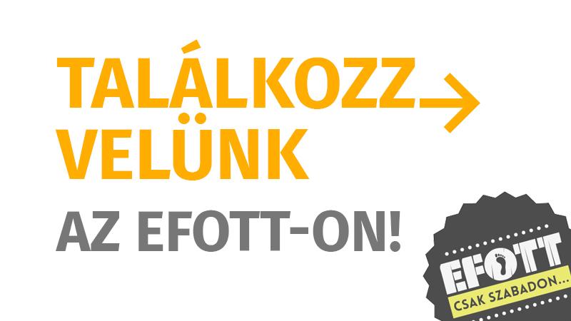 Találkozz velünk az EFOTT-on!